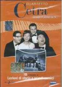 Quartetto Cetra - Lezioni di storia e grandi comici