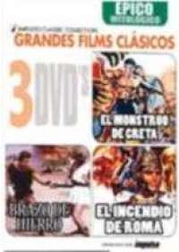 Cinema Epico e Mitologico (Teseo contro il Minotauro/Colosso di Roma/L'Incendio di Roma) (3 dvd) in spagnolo