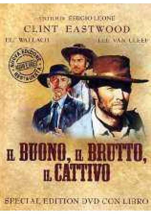 Il Buono, il brutto e il cattivo (dvd + libro)