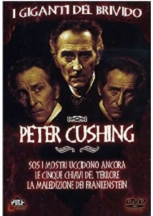 Peter Cushing - I Giganti del Brivido (3 dvd)