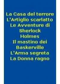 Sherlock Holmes (Serie di 6 vhs)
