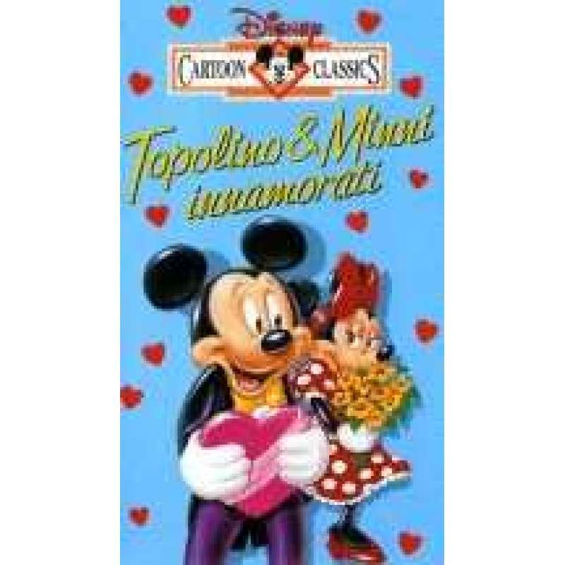 Topolino e minnie innamorati