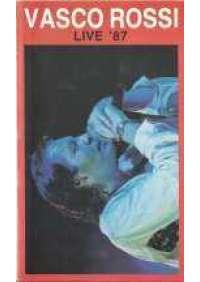 Vasco Rossi Live '87 (2 vhs)