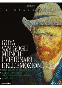 Goya, Van Gogh, Munch I Visionari Dell'Emozione (3 Blu-Ray)