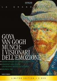 Goya, Van Gogh, Munch I Visionari Dell'Emozione (3 Dvd)