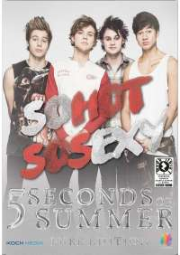 Dvd+Booklet 5 Seconds Of Summer - So Hot So Sexy