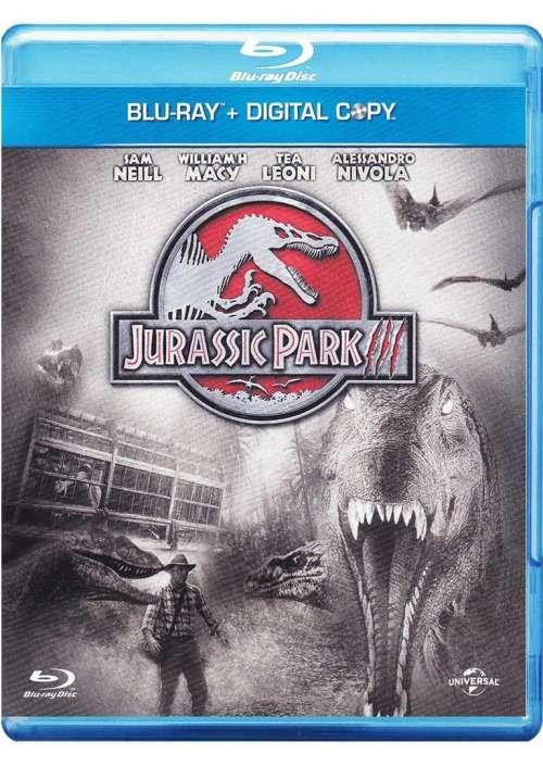 Jurassic Park 3 (Blu-Ray+Digital Copy)