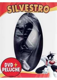 Dvd+Peluche Looney Tunes - Il Tuo Simpatico Amico Silvestro