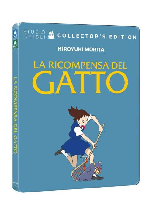 Blu-Ray+Dvd Ricompensa Del Gatto (La) (Ltd Steelbook)