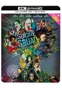 Suicide Squad (Ltd Steelbook) (Blu-Ray 4K Ultra Hd+Blu-Ray)