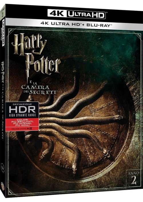 Harry Potter E La Camera Dei Segreti (4K Ultra Hd+Blu-Ray)