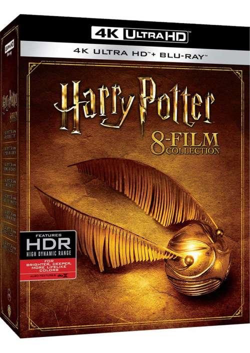 Harry Potter - 8 Film Collection (8 Blu-Ray 4K Ultra Hd+8 Blu-Ray)