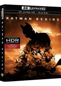 Batman Begins (4K Ultra Hd+Blu Ray)