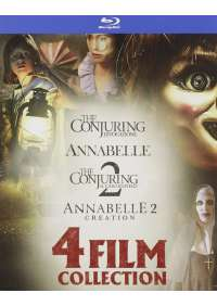 Annabelle/Conjuring 4 Film Collection (4 Blu-Ray)