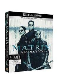 Matrix Revolutions (Blu-Ray 4K Ultra HD+Blu-Ray)