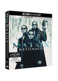 Matrix Reloaded (Blu-Ray 4K Ultra HD+Blu-Ray)