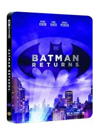 Batman Il Ritorno Steelbook (4K Ultra Hd+Blu-Ray)