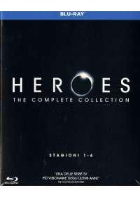 Heroes - Stagioni 01-04 (17 Blu-Ray)