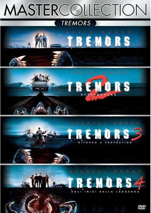 Tremors Quadrilogia (4 Dvd)