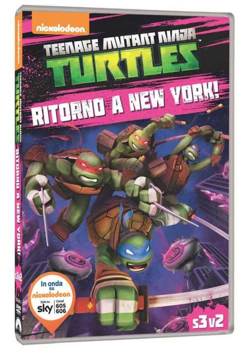 Teenage Mutant Ninja Turtles - Stagione 03 #02 - Ritorno A New York