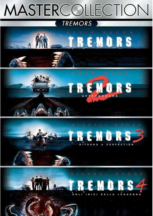 Tremors Quadrilogia (4 Blu-Ray)