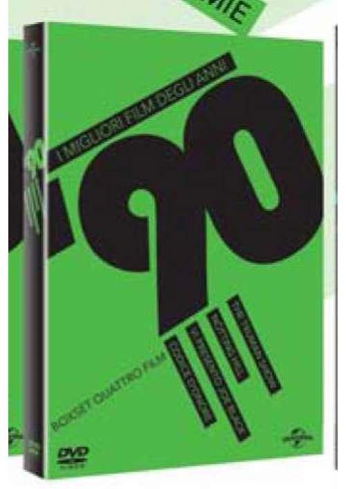 Migliori Film Degli Anni '90 (I) #02 (4 Dvd)