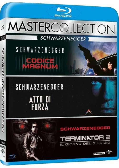 Arnold Schwarzenegger Master Collection (3 Blu-Ray)