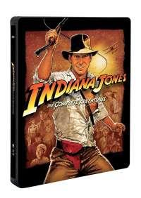 Indiana Jones Collection (Steelbook) (5 Blu-Ray)