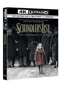 Schindler's List (Blu-Ray 4K Ultra HD+Blu-Ray)