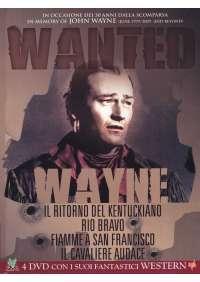 John Wayne - Wanted Cofanetto (4 Dvd)