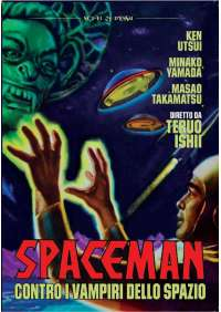Spaceman Contro I Vampiri Dello Spazio