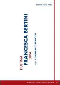 Ultima Diva (L') - Francesca Bertini