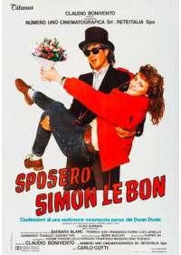 Sposero' Simon Le Bon