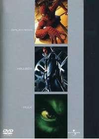 Spider-Man / Hellboy / Hulk (3 Dvd)